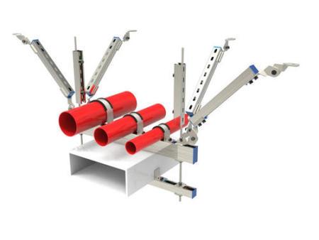 西安抗震支架深化設計-陝西成品支架深化設計-抗震支架廠家