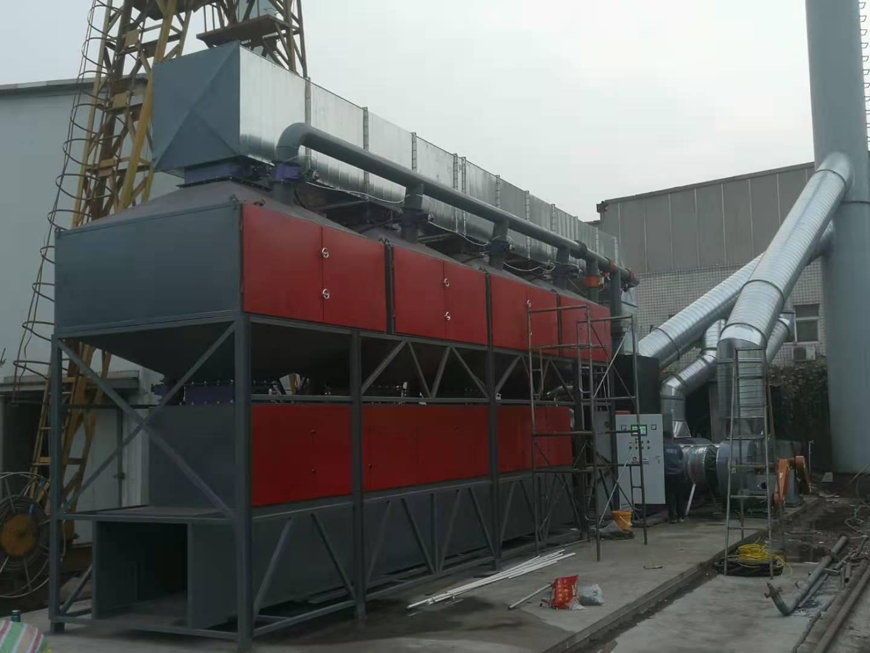 鄭州利銀RCO蓄熱式催化燃燒設備