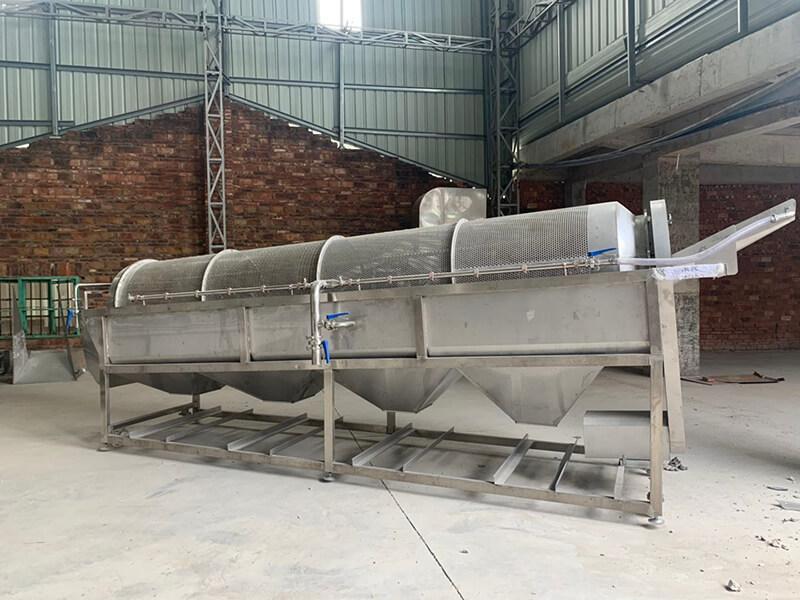 云南滚筒机厂家推荐-选购质量可靠的毛豆滚筒清洗机就选众萃机械