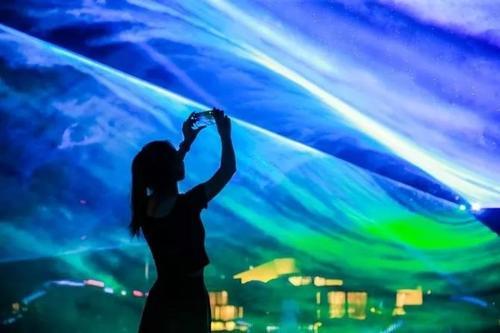 北極光激光燈