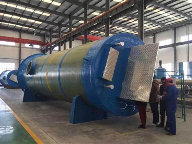 浙江一体化泵站-江西玻璃钢泵站价格-山东玻璃钢泵站
