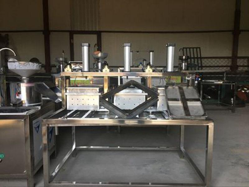豆腐机生产线_商用豆腐机生产线