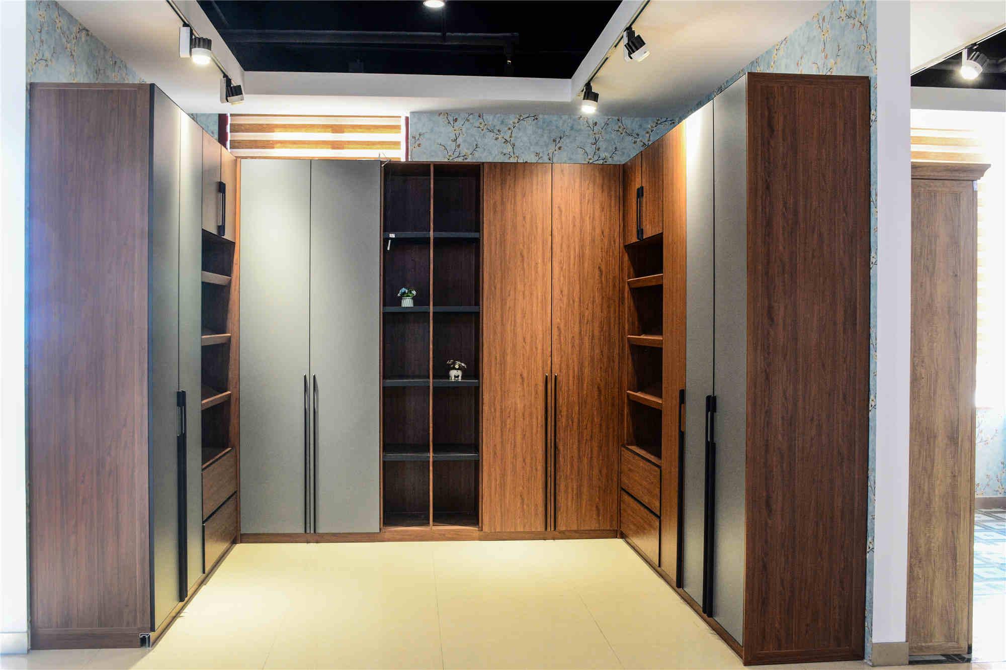 铝家居厂家-承德全铝家具型材-山东铝合金衣柜