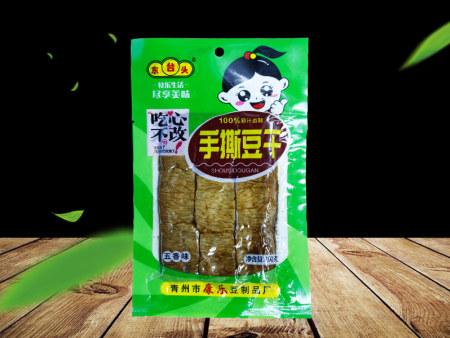 香辣豆腐干生產廠家-手撕豆腐干供應商-手撕豆腐干生產商