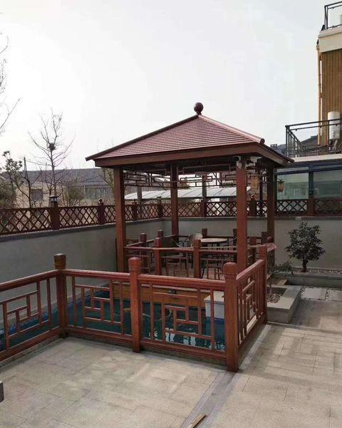 新中式凉亭