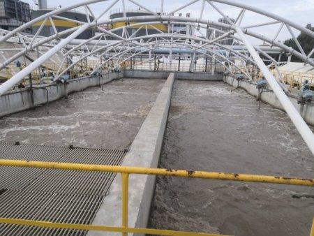 污水池加盖密封多少钱-膜结构油气池生产-膜结构油气池安装