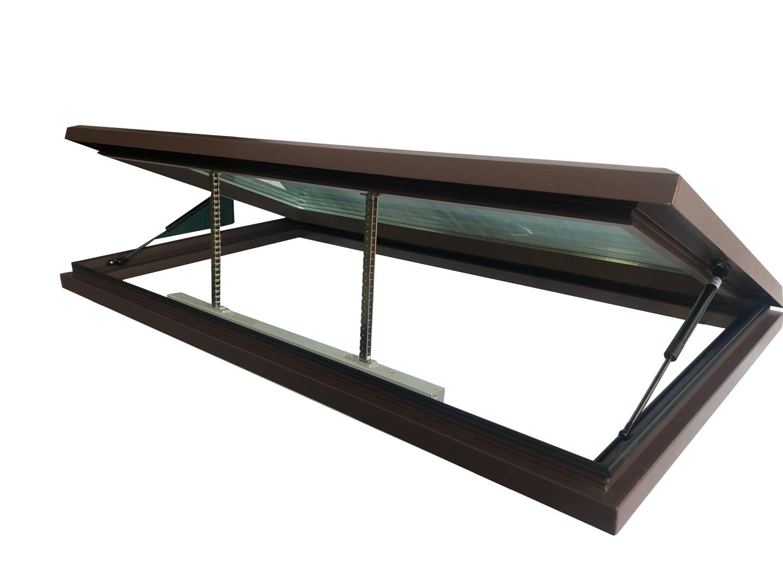 三角形电动天窗-东营铝合金手动天窗-济南铝合金手动天窗