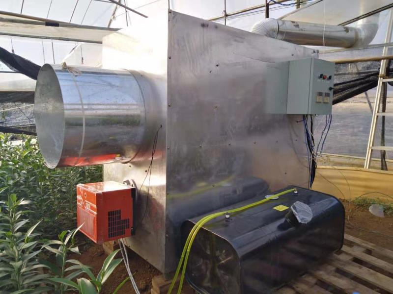 溫室燃油加溫機-燃油暖風機廠家-養殖燃油熱風機廠家