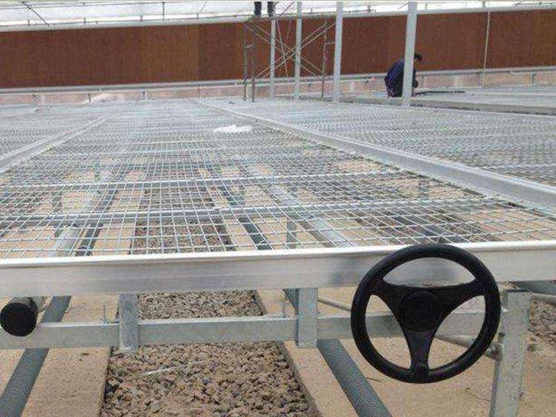 花卉移动灌溉苗床-热镀锌网片规格-苗床加工