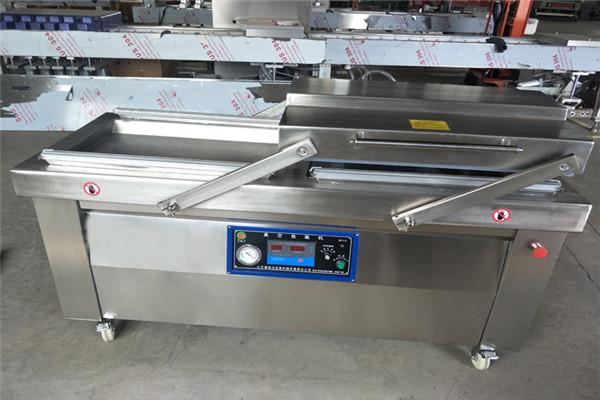 厂家定制卤味食品包装机-河北双室真空包装机