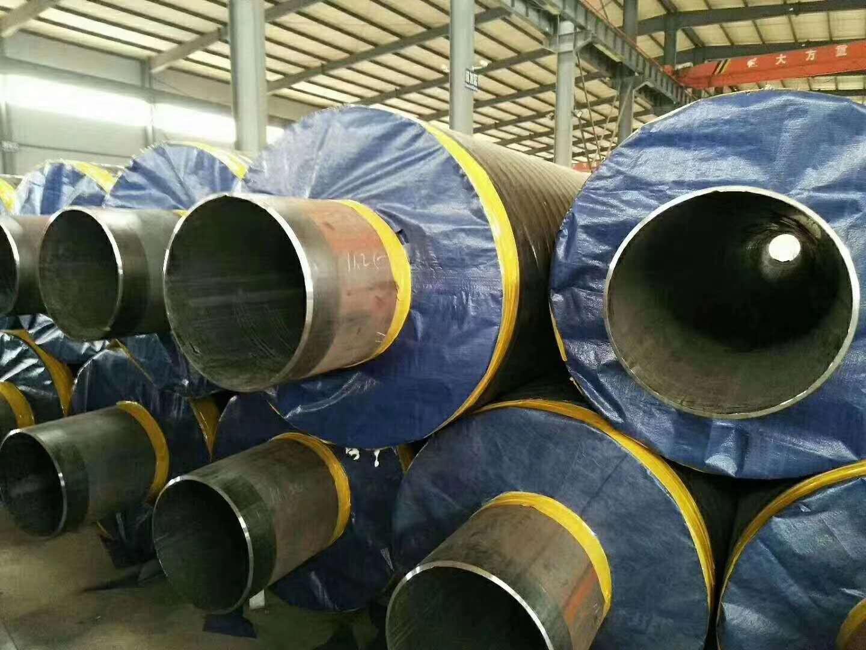 河北钢套钢蒸汽保温管生产介绍及工艺