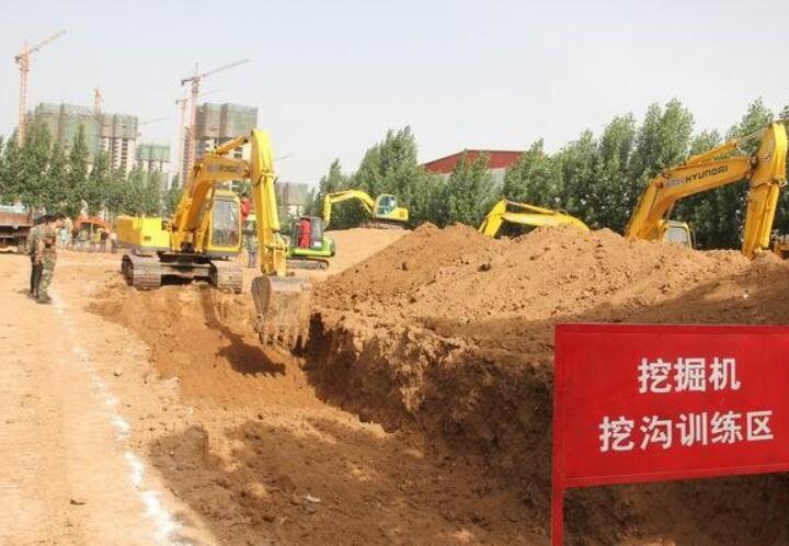 挖机培训学习-挖土机驾驶员考证-挖土机司机考证