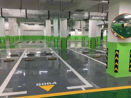 车库配套设施、车库交通设施【地下车库划线】恒泰智能