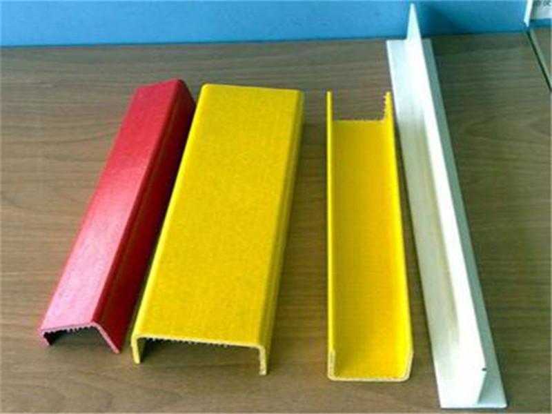 供应 玻璃钢方管 玻璃钢拉挤型材 玻璃钢槽钢型材