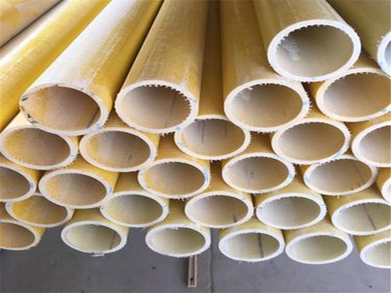 厂家定制 玻璃钢拉挤型材 耐腐蚀玻璃钢工字钢 玻璃钢圆管