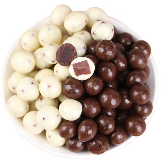 全白酸奶山楂球//巧克力山楂球