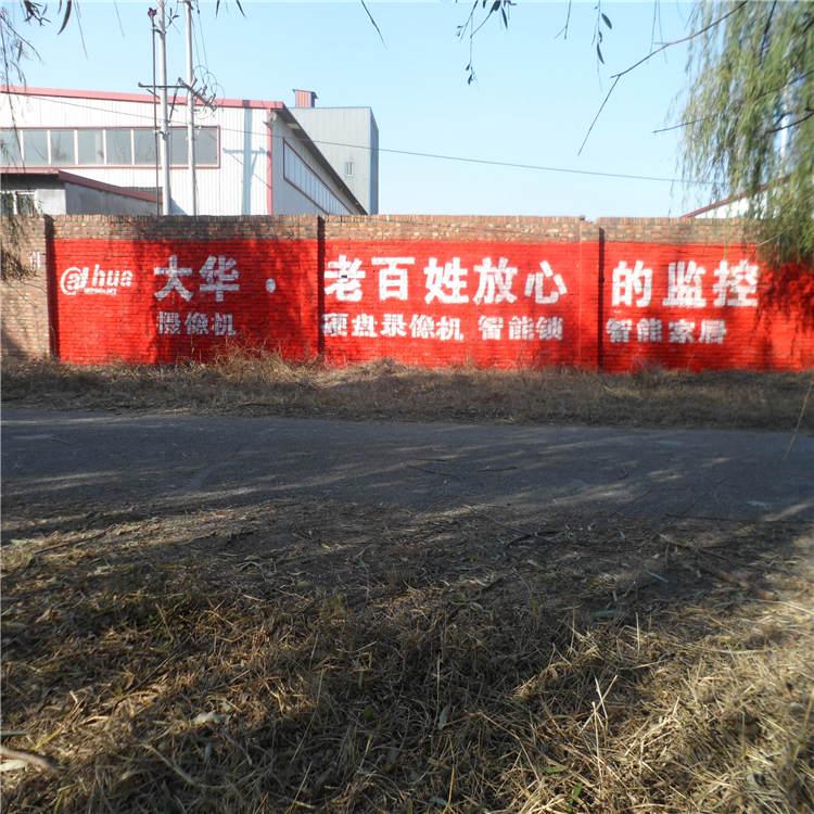 天津静海墙体广告,静海农村标语写大字,墙体彩绘