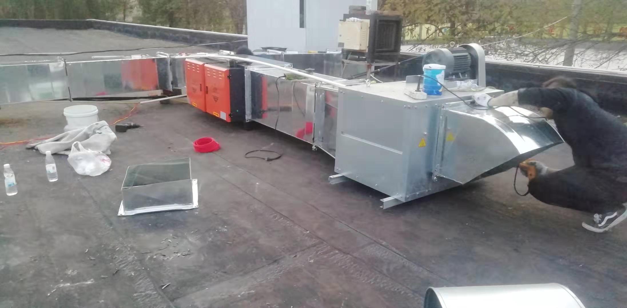 西安食堂油烟净化器设计安装-食堂油烟净化器安装改造