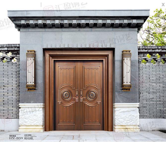 宁夏铜门——荣高智能科技