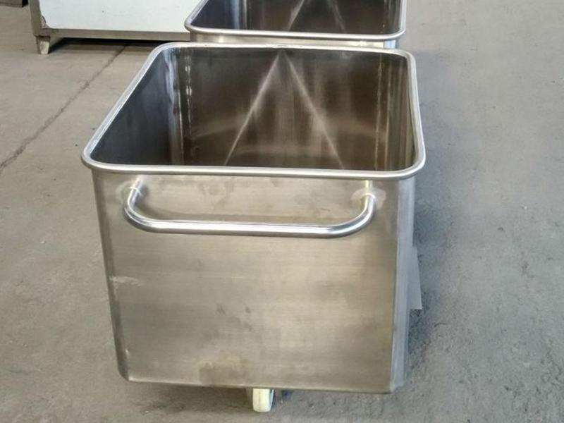 不锈钢桶车厂家-不锈钢物料桶价格-不锈钢多用桶多少钱