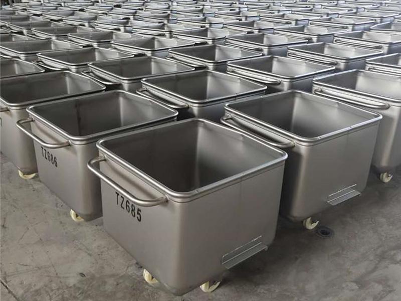 不銹鋼小料車-肉桶車多少錢-肉桶車報價