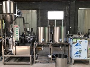 豆腐机生产线,欧邦豆腐机生产线,豆腐机生产线价格
