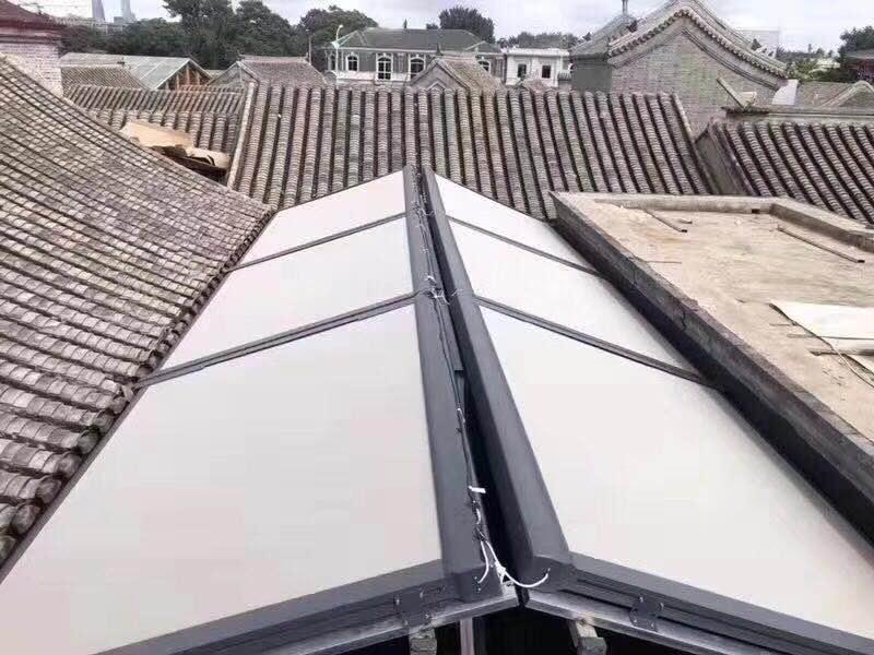 阳光房外遮天幕-河北阳光房外遮天幕生产厂家