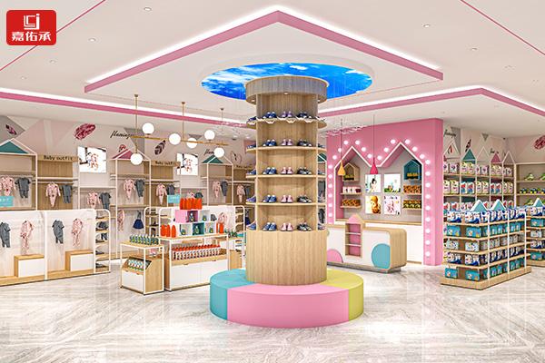 中岛柜展示台2021新款母婴店设计奶粉货架双面组合超市钢木陈