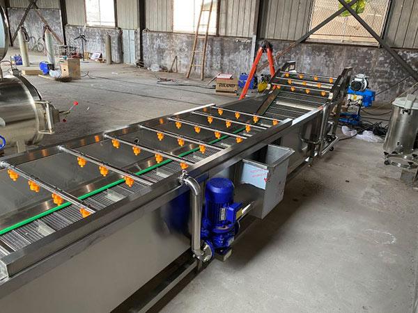 净菜加工流水线生产厂家-新式净菜加工生产线
