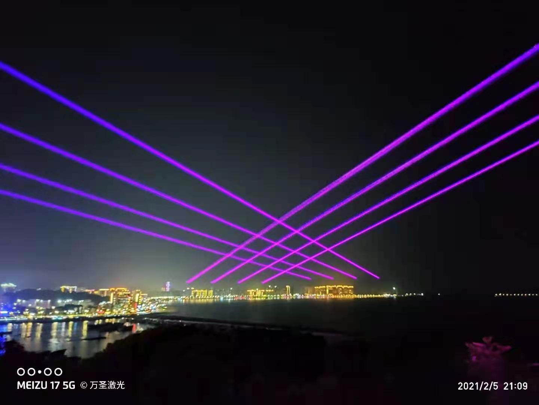 彩色激光灯厂家-亮化激光灯定制-广告激光灯定制