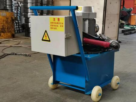 鴻躍電動液壓鉚釘機 風管法蘭鉚接設備生產廠家