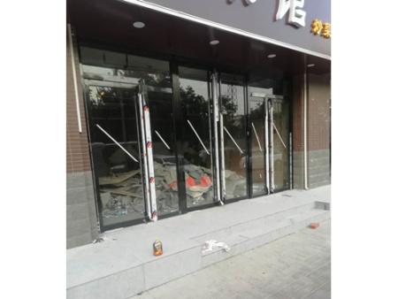 渭南玻璃卫生间-延安玻璃门订制-渭南玻璃门订制