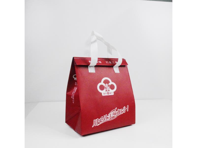 厦门餐饮外卖打包无纺布袋厂家-上华昊无纺布包袋,买好的餐饮打包保温袋