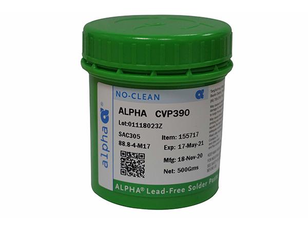 ALPHA? CVP-390針對標準和精密間距網板印刷配方