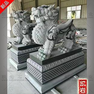 惠安石雕貔貅雕刻