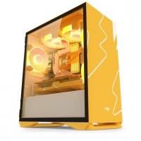 爱国者YOGO M2橙白 游戏机箱 昆明电脑批发