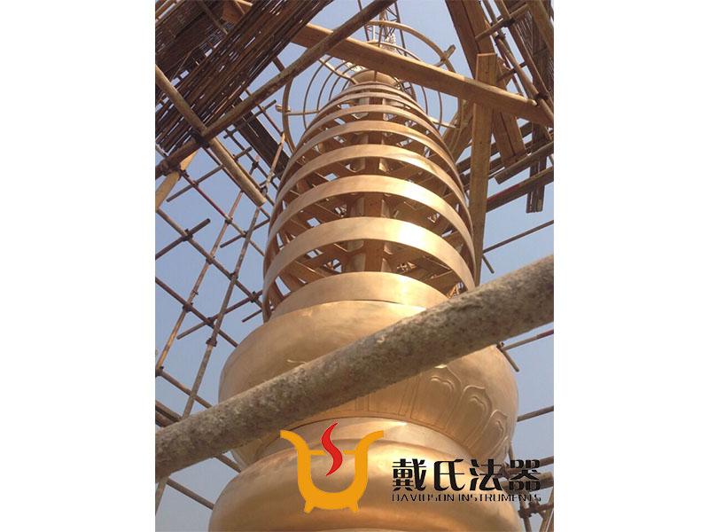 塔刹图片-温州创意青铜塔刹供应