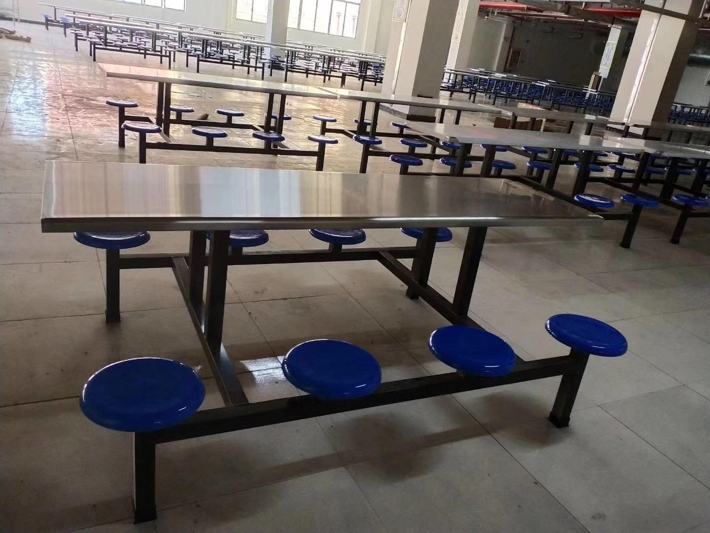 聊城市员工餐厅餐桌椅供应