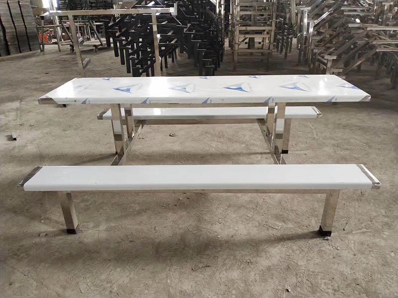 德州市不锈钢六人餐桌椅生产商