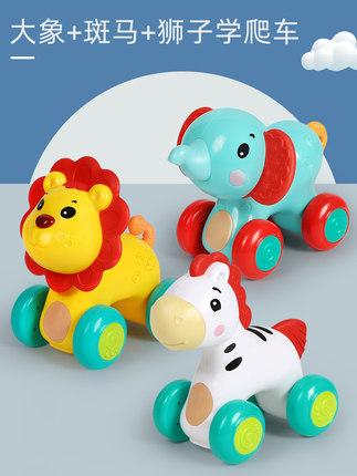 江苏谷雨四只小动物儿童学爬玩具价格