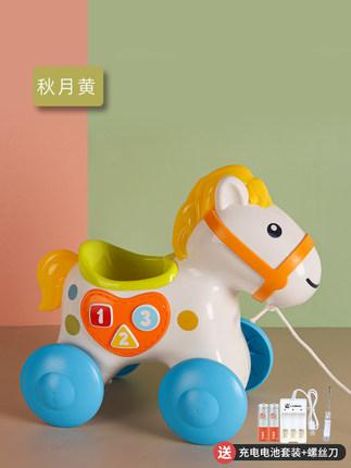 四川谷雨婴儿益智早教拉线小马玩具供应商