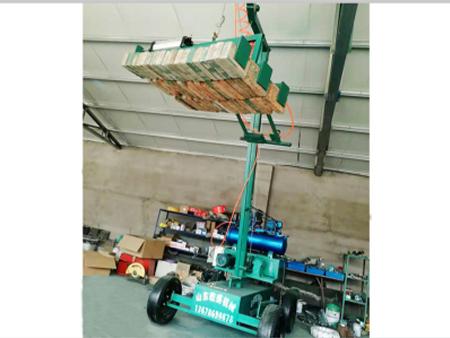 湖北電動標磚抱磚機多少錢,空心磚電動抱磚機報價