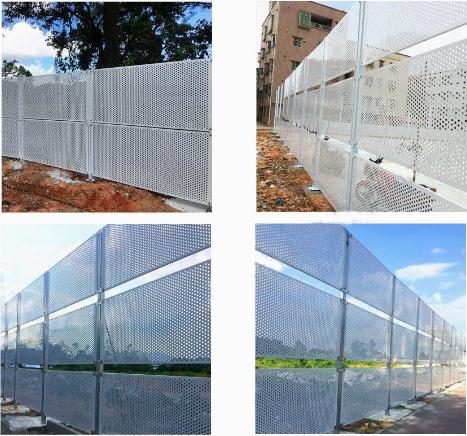 冲孔板护栏-供应防风冲孔围挡-加工定制新型围蔽