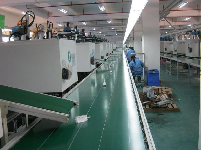 丽水汽车总装生产线工厂