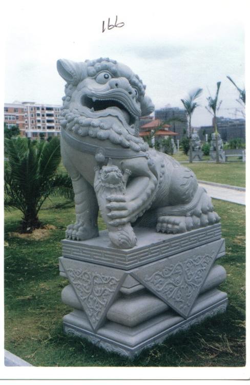 江西门口石雕狮子厂家