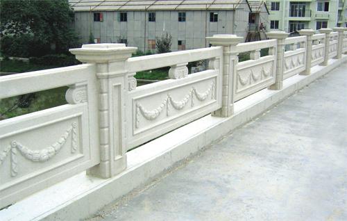 河南园林石栏杆图片