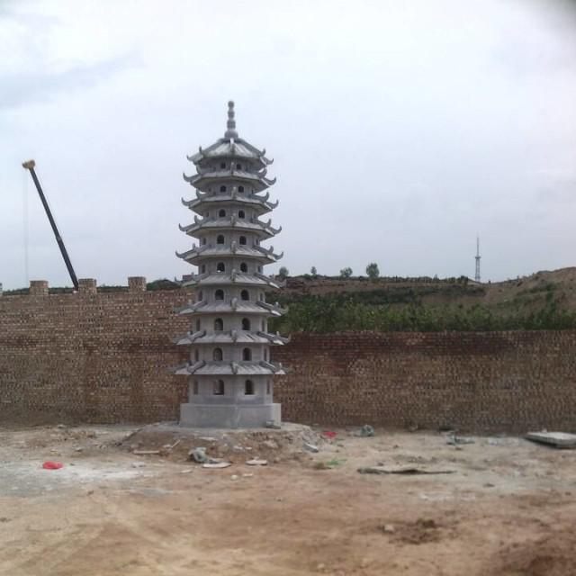 江蘇石雕六角塔制造商