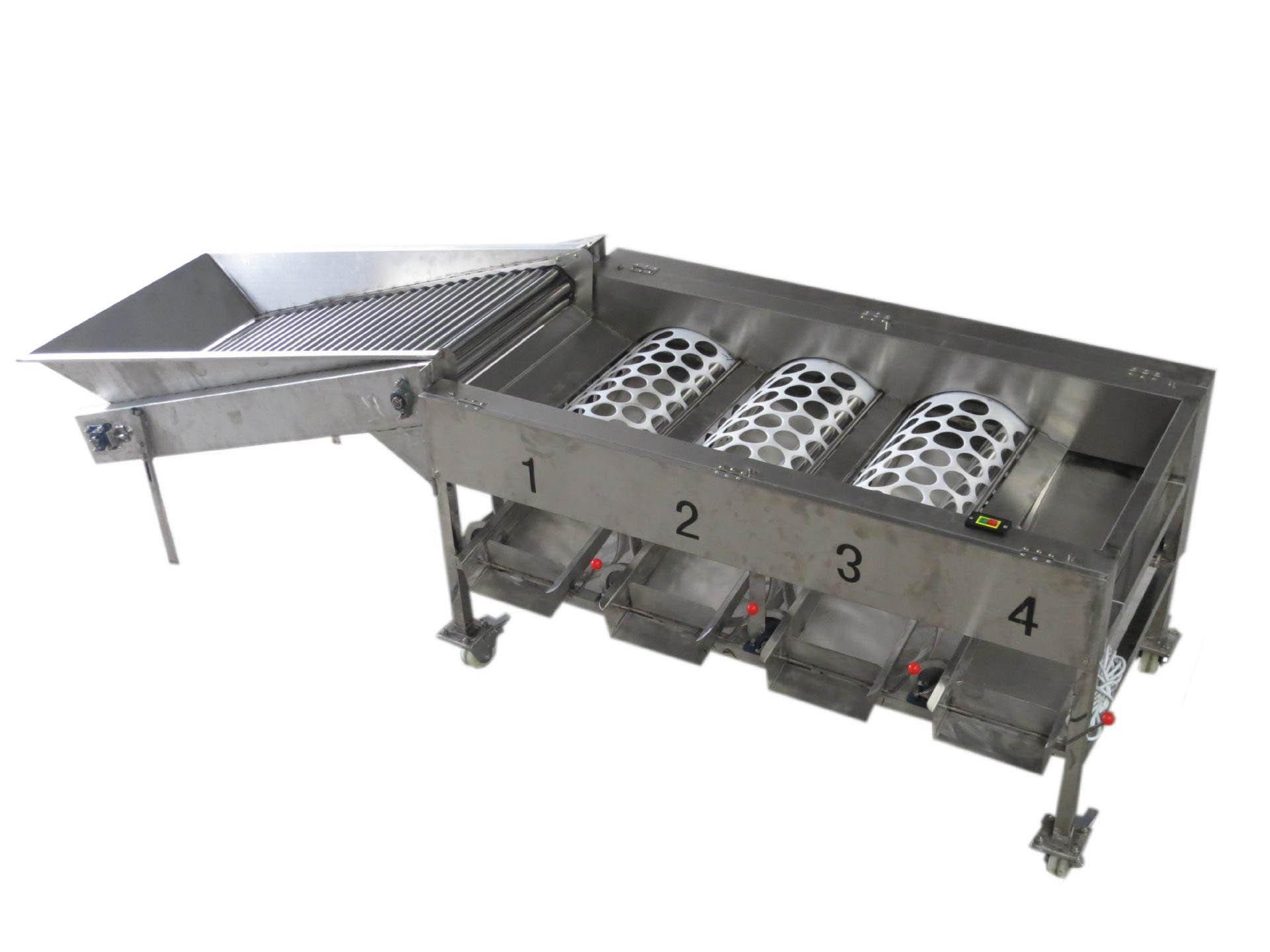 氣刀不銹鋼分選設備批發-天津不銹鋼篩選設備