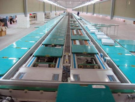 台州倍速链总装生产线价格,车门总装生产线供应