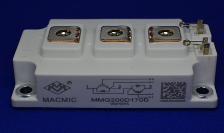 MMG200D170B宏微IGBT模块
